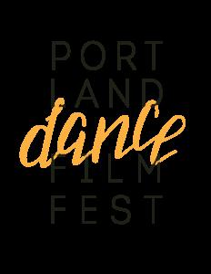 Portland Dance Film Fest Logo - Orange