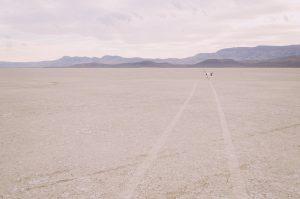 Dancer in the Alvord Desert