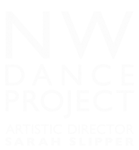 NW Dance Project White Logo